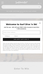 """Surf Dive n Ski's – """"win The Ultimate Travel Pack – valued Up to $3000"""" Competition (prize valued at $3,000)"""