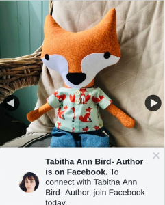 Tabitha Ann Bird Author – Win this Handmade Mr Fox Toy Is By Local Boonah Brand Ma and Pa Many More of These Gorgeous Creations Can Be Found at The Story Tree Cafe and Bookstore In Boonah