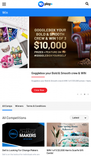 Ten Play – Win a $2000 Harris Scarfe Gift Card (prize valued at $10,000)