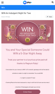 Channel Ten – Win a Major Prize In this Competition (excluding Sa Who Can Win Multiple Times). (prize valued at $15,000)