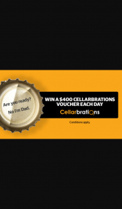 The Advertiser – Win a $400 Cellarbrations Voucher (prize valued at $4,800)