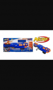 The Sunday Times – Win 1 In 5 Nerf N-Strike Elite Trilogy Ds-15 Blasters