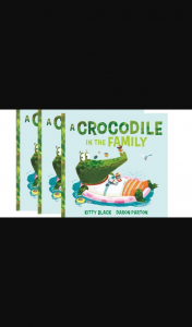 The West Australian – Win Kitty Black's 'a Crocodile In The Family'