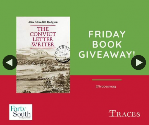 Traces magazine – Win a Copy of The Convict Letter Writer