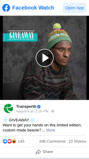 Transperth – Win One for You and a Friend
