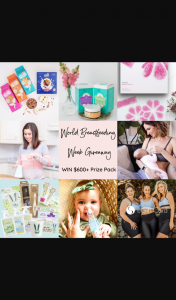 World Breastfeeding Week – Win this Amazing Prize (prize valued at $600)