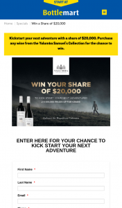 Yalumba – Sip'n'Save | Bottlemart | Harry Brown buy 1 x 750ml or more of Yalumba Samuel's Collection Range Enter to – Win a Share of $20000 (prize valued at $20,000)