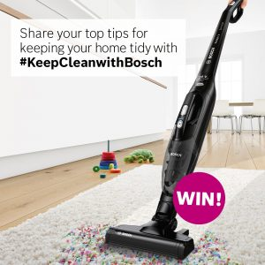 Bosch Home – Win a Readyy's 2-in-1 cordless vacuum cleaner