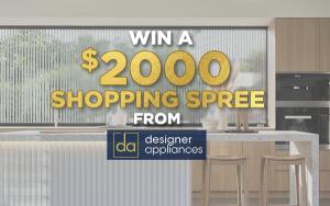 Designer Appliances – Win a $2,000 gift card