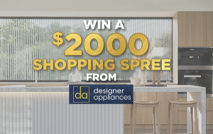 Designer Appliances – Win a $2,000 gift card