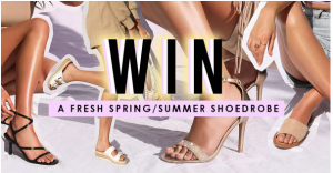 Famous Footwear – Win 1 of 3 prizes
