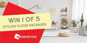 Network Ten – 10 play – Win 1 of 5 Beaumont Tiles Floor prize packs