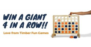 Timber Fun Games – Win a giant 4 in a row