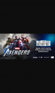 Acer – Intel – Win 1 of 280 Game Bundle Codes to Marvel's Avengers Pc Game