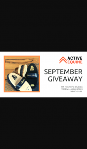 Active Equine – Win a Grooming Pack (prize valued at $140)