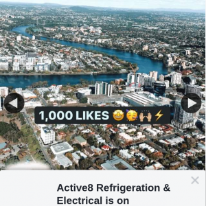 Active8 Refrigeration & Electrical – Win 3 Seats on a Private Cbd Flight Over Brisbane