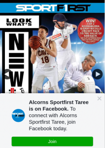 Alcorns Sportfirst Taree – Win 2 X $400 RRP Cricket Packs (prize valued at $800)