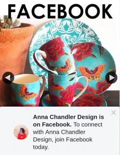 Anna Chandler Design – Win a Set of Bone China Mugs (prize valued at $47.95)