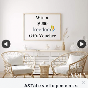 A&T – Win a $200 Freedom Gift Voucher