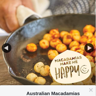 Australian Macadamias – Win a Macadami Pack Valued at $45 From Nutworks and The Chocolate Factory (prize valued at $45)