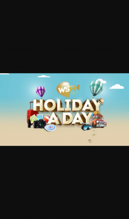 Australian Radio Network/WSFM's Holiday a Day – Competition