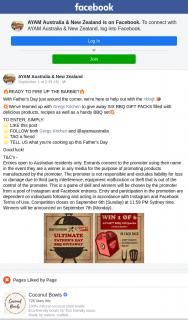 Ayam Australia – Win One of Six Bbq Gift Packs