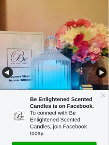 Be Enlightened Scented Candles – Win Our Brand New Luxury Glass Aroma Diffuser and a 30ml Essential & Fragrant Oil Valued at $220. (prize valued at $220)