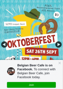 Belgian Beer Cafe – Win Two Free Seats at Our Long Table for The Belgian Beer Cafe's Annual Oktoberfest