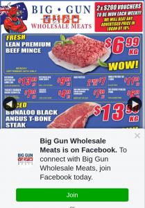 Big Gun Wholesale Meats – Win 1 of 2 X $200 Store Vouchers