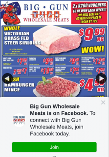 Big Gun Wholesale Meats – Win 1 of 2 X $200 Vouchers