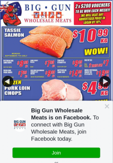 Big Gun Wholesale Meats – Win 1 of 2 X $200 Vouchers (prize valued at $400)