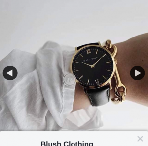 Blush Clothing Playhouse – Win Marc Bale Watch