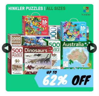 Bodero – Win a Hinkler Puzzle Prize Pack