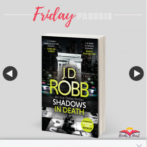 Books With Heart – Win 1 of 5 Copies of Shadows In Death By Jd Robb