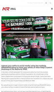 Castrol – Win a Castrol Racing Merchandise Pack