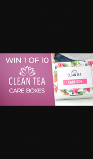 Channel 7 – Sunrise – Win One of Ten Clean Tea Care Boxes