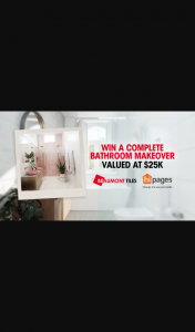 Channel 9 – Today Show – Beaumont Tiles – Win Your Dream Bathroom Makeover (prize valued at $25,000)