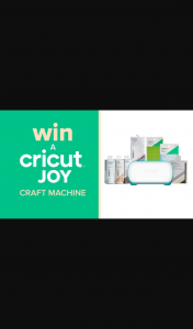 Channel 9 – Today Show – Win 1 of 5 Cricut Joy and Material Packs