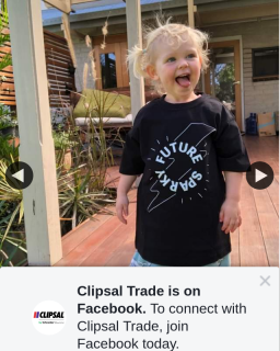 Clipsal Trade – Win a Clipsal Shirt for Your Little Future Sparky