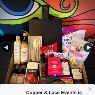 Copper & Lace Events – Win a $200 Hamper (prize valued at $200)