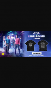Dendy – Win a Bill & Ted Face The Music T-Shirt