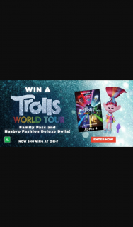 Dendy – Win a Family Pass to See The Hair-Raisingly Rockin' New Movie and Hasbro Fashion Deluxe Doll