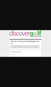 Discover Golf – Win a $250 Drummond Golf Gift Card The Prize Is Offered to One Winner/ Person (prize valued at $250)