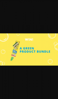 Dishmatic – Win a Green Themed Cleaning Bundle