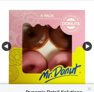 Dynamic Retail Solutions – Win $50 Worth of Mr Donuts Donuts (prize valued at $50)