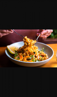 EatSouthbank – Win a Bottomless Pasta Experience at Mister Paganini (prize valued at $100)