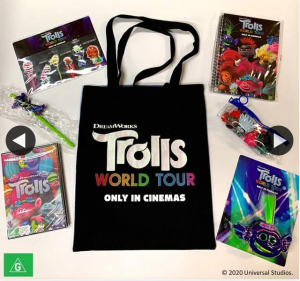 Event Cinemas – Win Trolls Pack