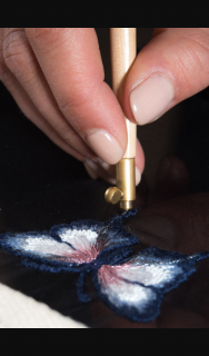 Fashion Journal – Win French Couture Designer Delphine Genin's Art Embroidery Classes and Starter Kit (prize valued at $390)