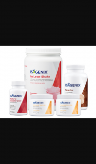 Female – Win an Isagenix Pack Valued at $265.35 Including (prize valued at $265.35)