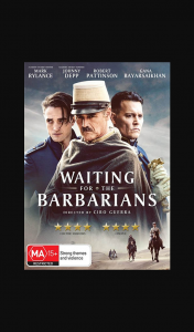 Female – Win One of 5 X Waiting for The Barbarians DVDs (prize valued at $150)